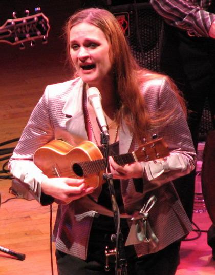La chanteuse Madeleine Peyroux