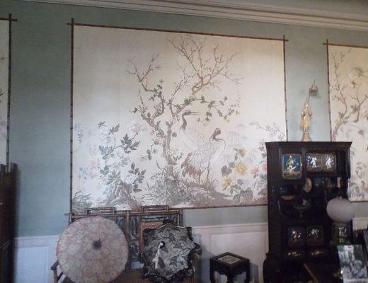 Donner un côté rétro à vos murs avec du papier peint
