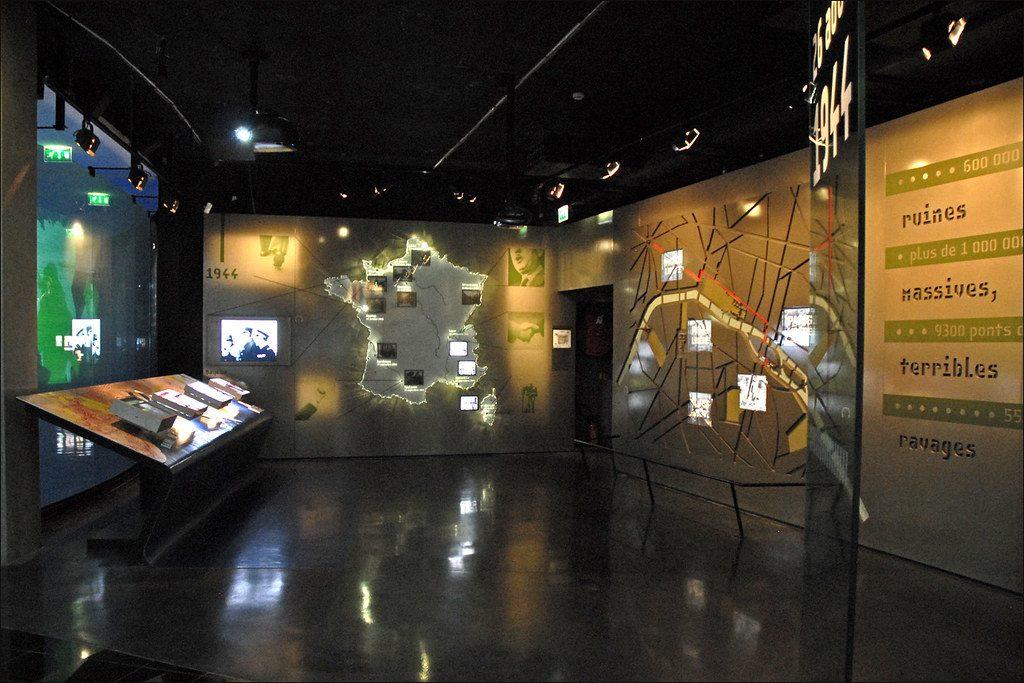 L'historial de Charles de Gaulle au Musée de l'Armée aux Invalides