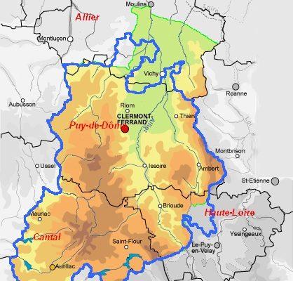Région d'Auvergne