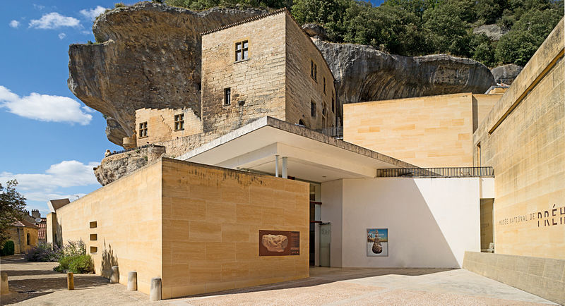 Le musée national de la préhistoire à Les Eyzies-de-Tayac